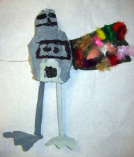 Robot -- Kindergartener