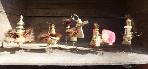 All 5 little birds
